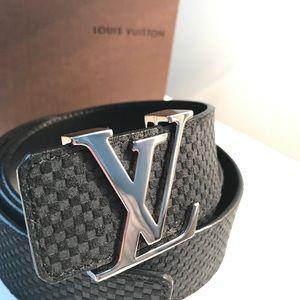 70730e410d3f Louis Vuitton Accessories - Louis Vuitton LV Initiales 40MM Belt M6875 95